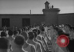 Image of prisoners engage in formal athletic activities Valencia Spain, 1942, second 7 stock footage video 65675048277
