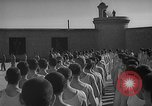 Image of prisoners engage in formal athletic activities Valencia Spain, 1942, second 9 stock footage video 65675048277