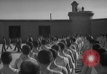 Image of prisoners engage in formal athletic activities Valencia Spain, 1942, second 10 stock footage video 65675048277