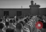 Image of prisoners engage in formal athletic activities Valencia Spain, 1942, second 12 stock footage video 65675048277