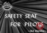 Image of safety seat Dayton Ohio USA, 1946, second 1 stock footage video 65675048280