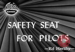 Image of safety seat Dayton Ohio USA, 1946, second 2 stock footage video 65675048280