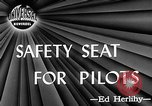 Image of safety seat Dayton Ohio USA, 1946, second 3 stock footage video 65675048280