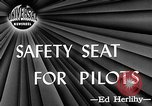Image of safety seat Dayton Ohio USA, 1946, second 4 stock footage video 65675048280