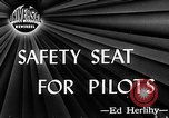 Image of safety seat Dayton Ohio USA, 1946, second 5 stock footage video 65675048280
