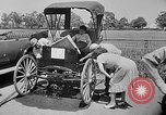 Image of antique automobile pageant Mineola New York USA, 1946, second 7 stock footage video 65675048282
