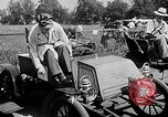 Image of antique automobile pageant Mineola New York USA, 1946, second 8 stock footage video 65675048282