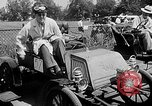 Image of antique automobile pageant Mineola New York USA, 1946, second 9 stock footage video 65675048282