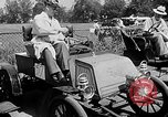 Image of antique automobile pageant Mineola New York USA, 1946, second 10 stock footage video 65675048282