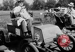 Image of antique automobile pageant Mineola New York USA, 1946, second 11 stock footage video 65675048282