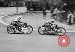 Image of bike race Barcelona Spain, 1946, second 8 stock footage video 65675048283