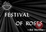 Image of Rose festival Portland Oregon USA, 1946, second 1 stock footage video 65675048284