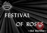 Image of Rose festival Portland Oregon USA, 1946, second 2 stock footage video 65675048284