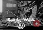 Image of wrecked apartment Seattle Washington USA, 1950, second 3 stock footage video 65675048287