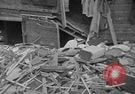 Image of wrecked apartment Seattle Washington USA, 1950, second 10 stock footage video 65675048287