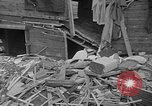 Image of wrecked apartment Seattle Washington USA, 1950, second 11 stock footage video 65675048287
