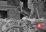 Image of wrecked apartment Seattle Washington USA, 1950, second 12 stock footage video 65675048287