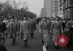 Image of anti-communist loyalty parade on Fifth Avenue New York City USA, 1950, second 5 stock footage video 65675048288