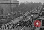 Image of anti-communist loyalty parade on Fifth Avenue New York City USA, 1950, second 6 stock footage video 65675048288