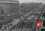 Image of anti-communist loyalty parade on Fifth Avenue New York City USA, 1950, second 7 stock footage video 65675048288