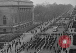 Image of anti-communist loyalty parade on Fifth Avenue New York City USA, 1950, second 8 stock footage video 65675048288