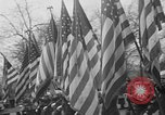Image of anti-communist loyalty parade on Fifth Avenue New York City USA, 1950, second 10 stock footage video 65675048288