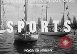 Image of boat race Seattle Washington USA, 1950, second 4 stock footage video 65675048289