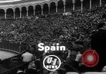 Image of bull fighting Seville Spain, 1950, second 2 stock footage video 65675048291