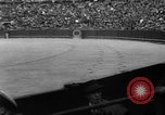 Image of bull fighting Seville Spain, 1950, second 5 stock footage video 65675048291