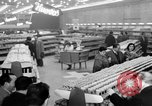 Image of supermarket Spain, 1956, second 5 stock footage video 65675048294