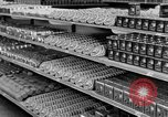 Image of supermarket Spain, 1956, second 7 stock footage video 65675048294