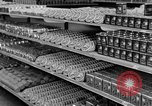 Image of supermarket Spain, 1956, second 8 stock footage video 65675048294