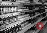 Image of supermarket Spain, 1956, second 9 stock footage video 65675048294