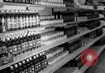 Image of supermarket Spain, 1956, second 11 stock footage video 65675048294
