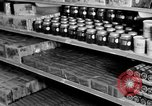Image of supermarket Spain, 1956, second 12 stock footage video 65675048294