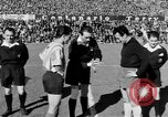 Image of soccer game Spain, 1956, second 6 stock footage video 65675048295