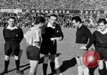Image of soccer game Spain, 1956, second 7 stock footage video 65675048295