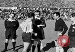 Image of soccer game Spain, 1956, second 9 stock footage video 65675048295