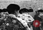 Image of bull fighting Spain, 1956, second 5 stock footage video 65675048297