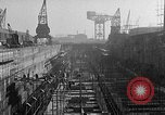 Image of concrete barges Portsmouth England, 1944, second 8 stock footage video 65675048314