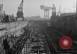 Image of concrete barges Portsmouth England, 1944, second 11 stock footage video 65675048314