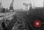Image of concrete barges Portsmouth England, 1944, second 12 stock footage video 65675048314