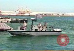 Image of Harbor Patrol crew Saudi Arabia, 1991, second 2 stock footage video 65675048335