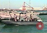 Image of Harbor Patrol crew Saudi Arabia, 1991, second 6 stock footage video 65675048335