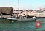 Image of Harbor Patrol crew Saudi Arabia, 1991, second 9 stock footage video 65675048335