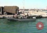 Image of Harbor Patrol crew Saudi Arabia, 1991, second 10 stock footage video 65675048335