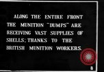 Image of British soldiers and supplies France, 1916, second 1 stock footage video 65675048356