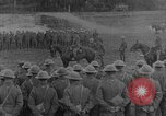 Image of British General addresses troops about to enter Battle of the Somme France, 1916, second 10 stock footage video 65675048358