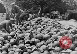 Image of British troops employing plum pudding mortars France, 1916, second 8 stock footage video 65675048360
