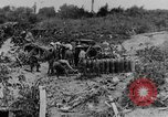 Image of British artillerymen firing a 9.2 inch howitzer France, 1916, second 8 stock footage video 65675048361
